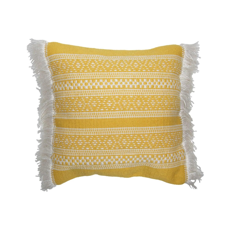 Ollie Hand Woven Pillow, 18x18