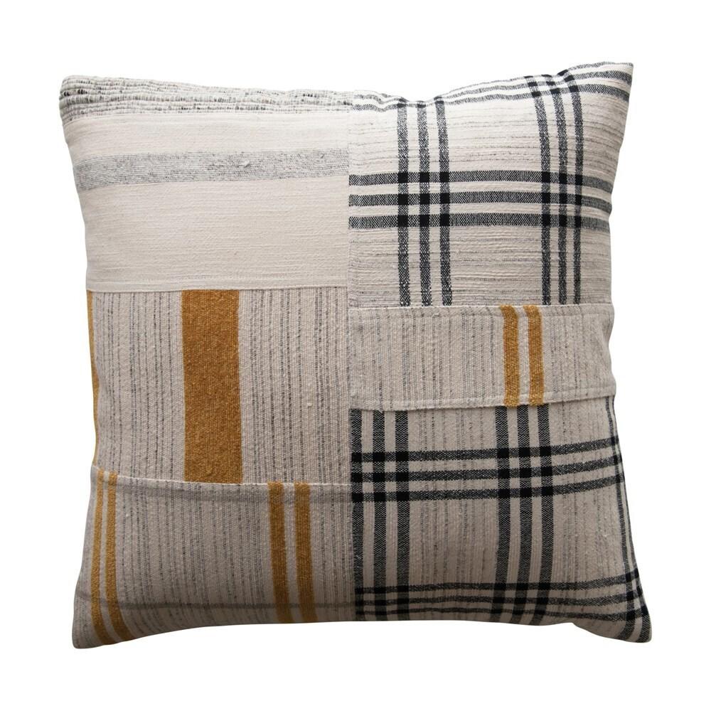 "Marla Patchwork Pillow, 20"""