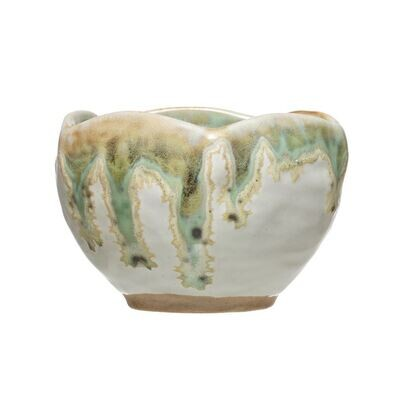 Small Decorative Bowl, Reactive Glaze