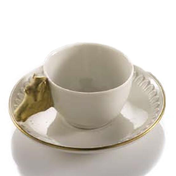"Чашка с блюдцем ""Tea After Polo"" (Grande Imperio II)"