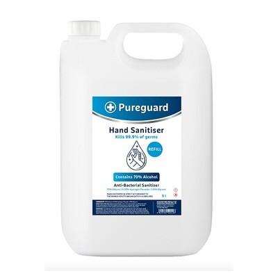 Pureguard Hand & Surface Sanitiser 70% - 5L