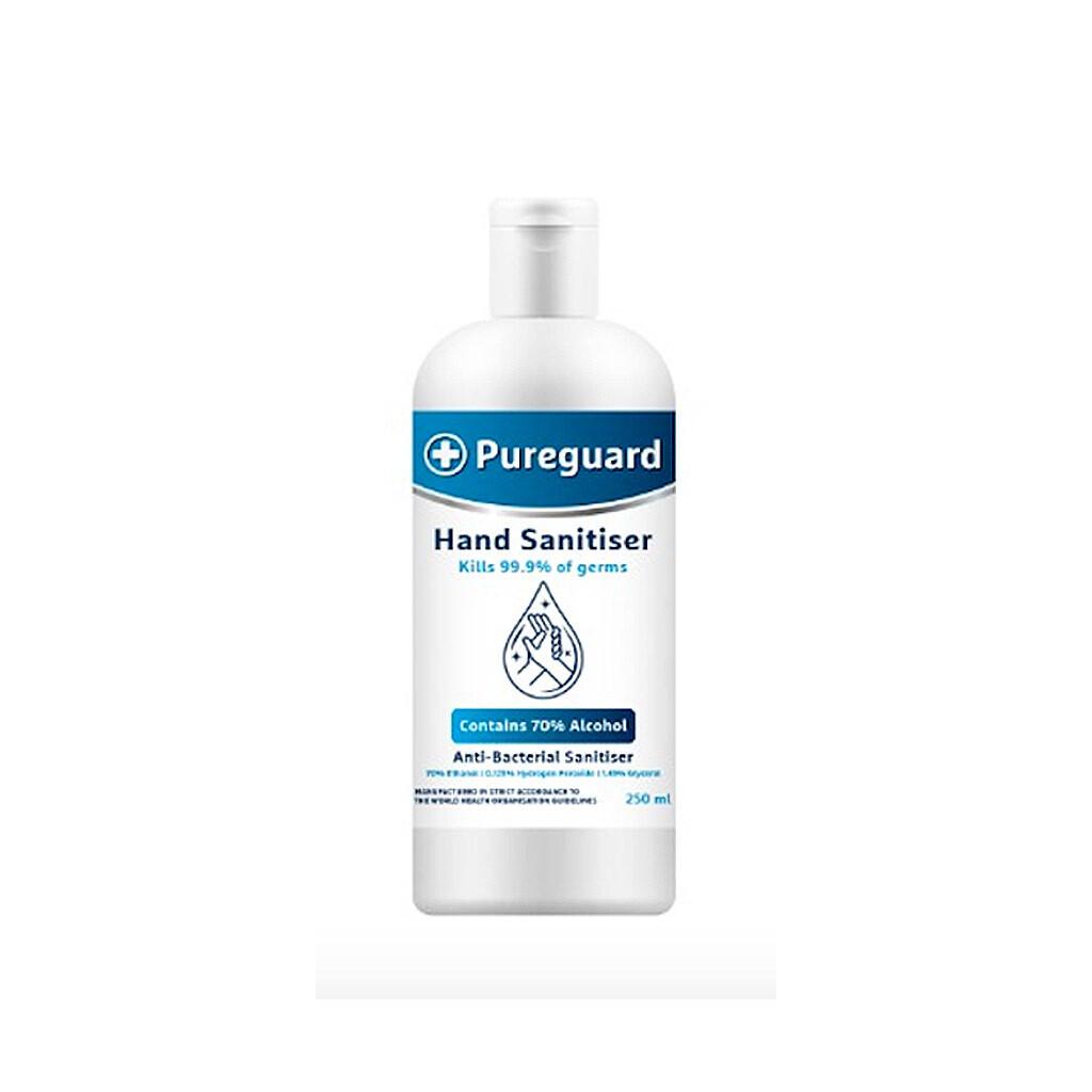 Pureguard Hand & Surface Sanitiser 70% - 250 ML