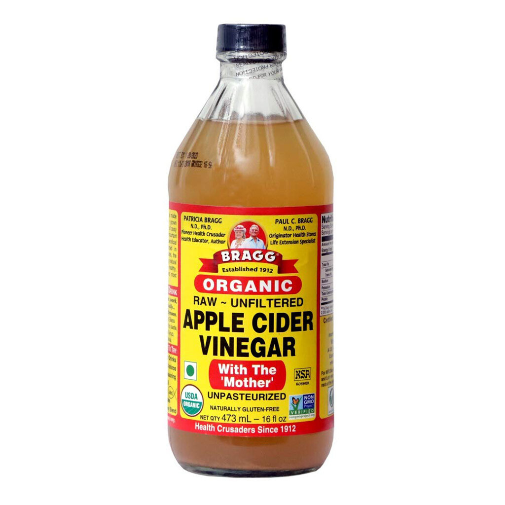 Bragg Organic Raw Apple Cider Vinegar (473ml)