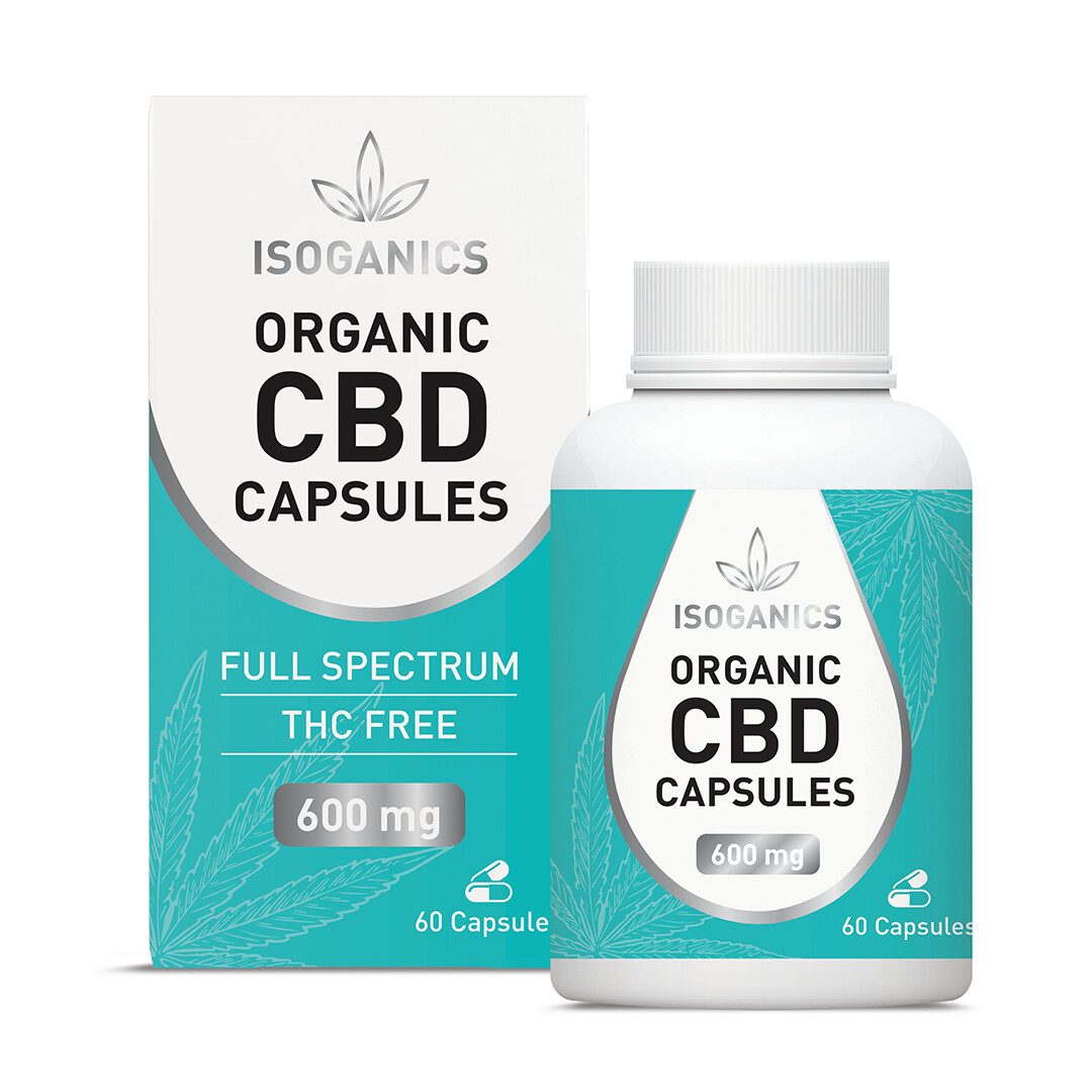 Isoganic Organic CBD 600mg - 30 Capsules