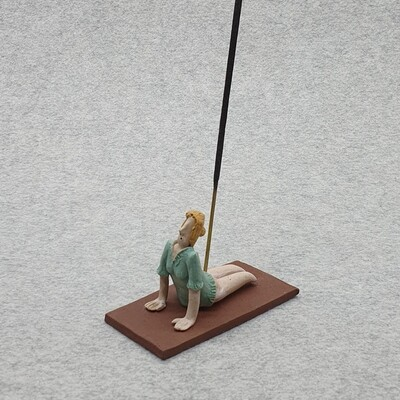 Yoga Figurine Incense Holder