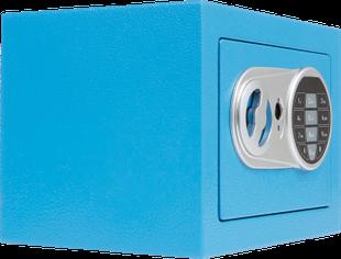 COFFRE-FORT ÉLECTRONIQUE couleur bleu Neuf