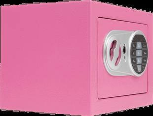 COFFRE-FORT ÉLECTRONIQUE couleur rose