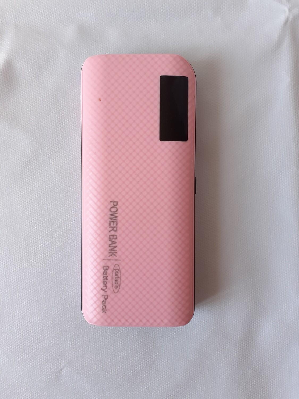 Batterie double recharge pour Android et Iphone avec lampe de poche. 20 000 mAh Neuf