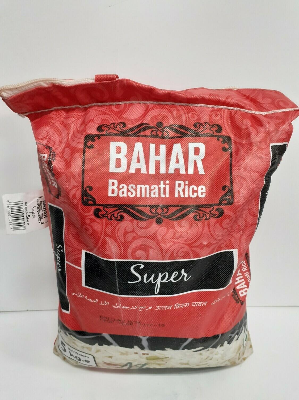 Basmati Rice Super BAHAR 5Kg