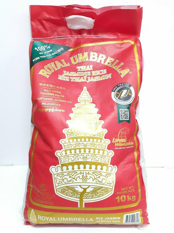 Thai Jasmine Rice ROYAL UMBRELLA 10 Kg
