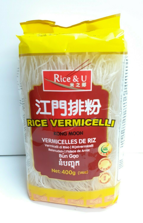 Rice Vermicelli RICE & U 400 g