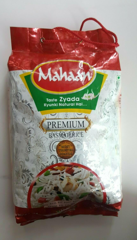 Premium Basmati Rice MAHAAN 5Kg
