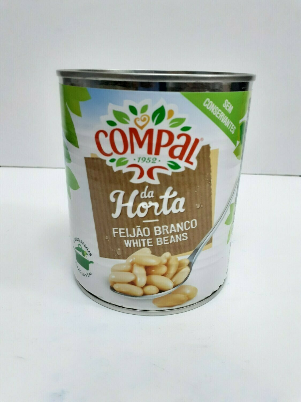 Feijao Branco white Beans COMPAL 520 g