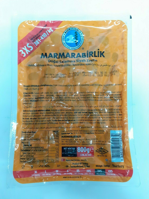 Naturel Olives Noires MARMARABIRLIK 800 g