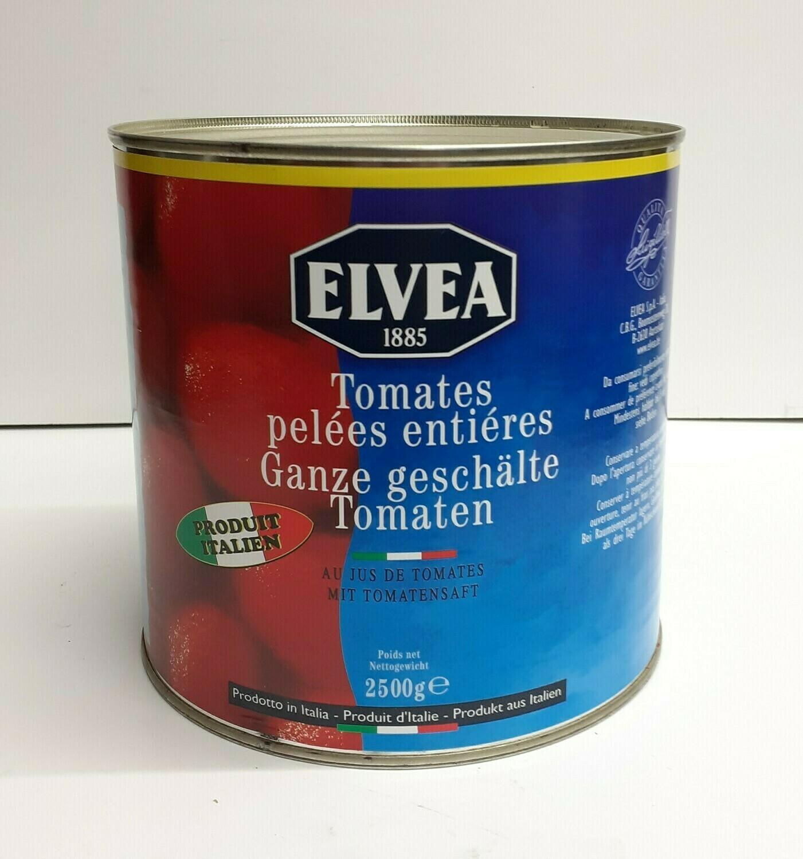 Tomates Pelées Entière ELVEA 2.5 Kg