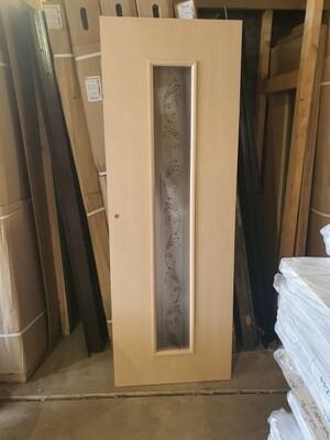 Межкомнатная дверь c-21 беленый дуб  750*2040 (образец)