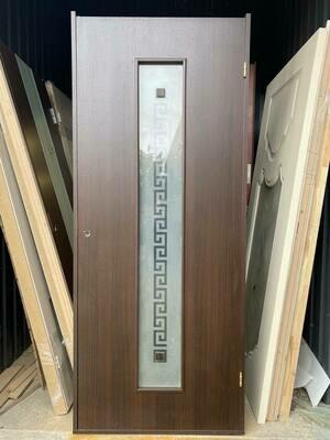 Дверь с коробкой ламинированная c-17 венге  950*2040 левая (образец)