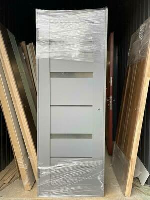 Дверь с коробкой шпонированная Омега-3 750*2030 правая (образец)