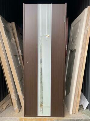 Дверь с коробкой ДУЕТ 750*2030 венге левая (образец)