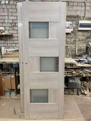Дверь с коробкой ПВХ 01.20 дуб крема  750*2030 (образец)