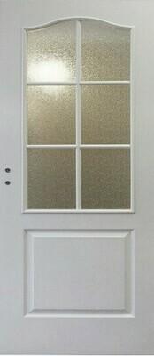 Дверь с коробкой Кармена со стеклом (НОВАЯ)