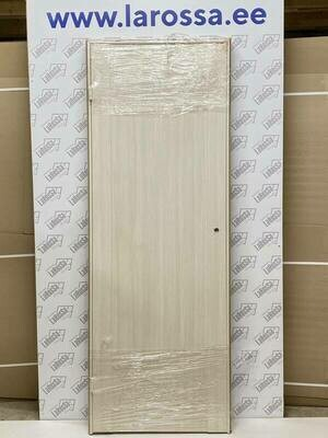 Дверь с коробкой ПВХ 01.10 дуб бианко  750*2030 (образец 13)