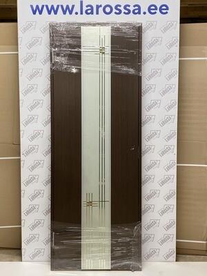 Дверь с коробкой шпонированная венге  750*2030 (образец 15)