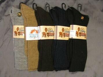 Baby Alpaca Dress Socks