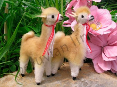 Mini Alpaca Standing