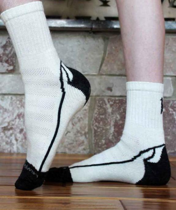 Short Crew Alpaca Socks
