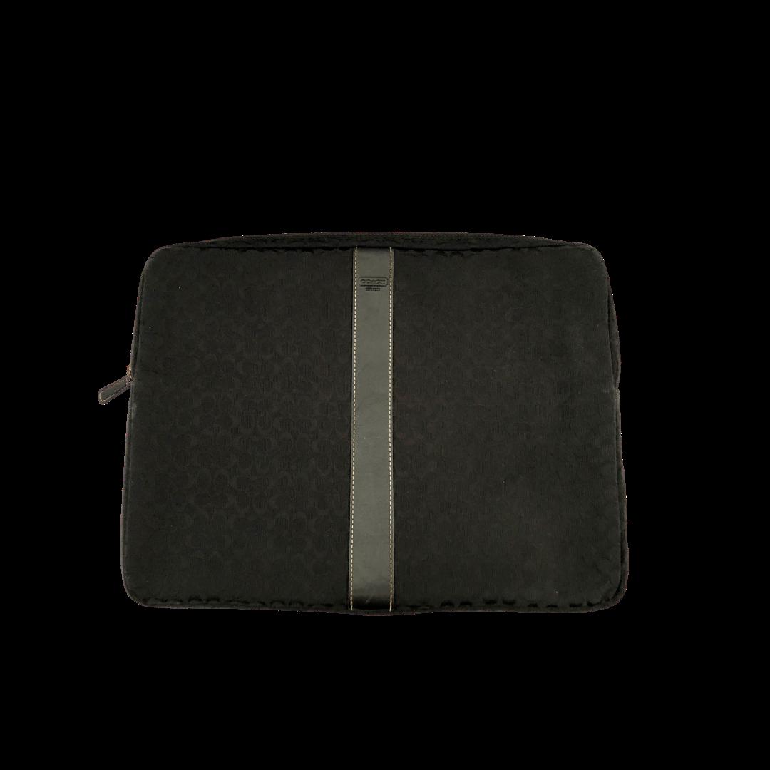 COACH Cloth Zipper Laptop Case