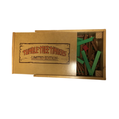 Tumble Tree Timbers Limited Edition Log Building Set in Rolling Case