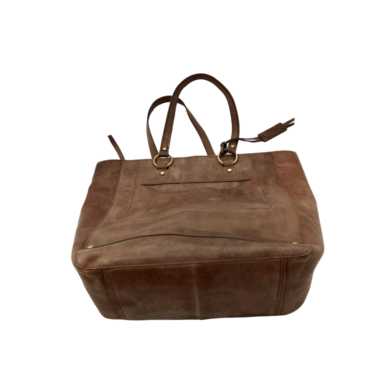 Diba True 100% Genuine Leather Chestnut Handbag