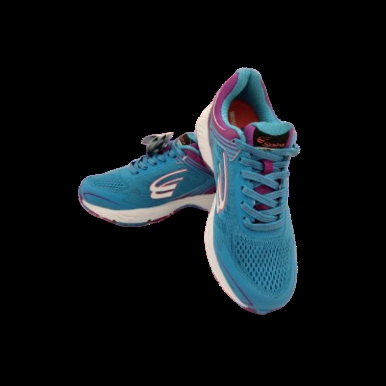Aquarius WaveSpring Training Shoe Teal Blue/Purple Style #SRA112-B Women's Size 7.5B