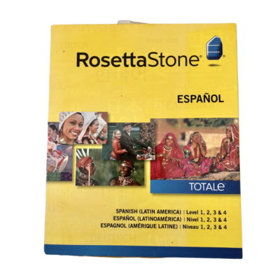 Rossetta Stone Spanish Version 4 with 4 Spanish Levels
