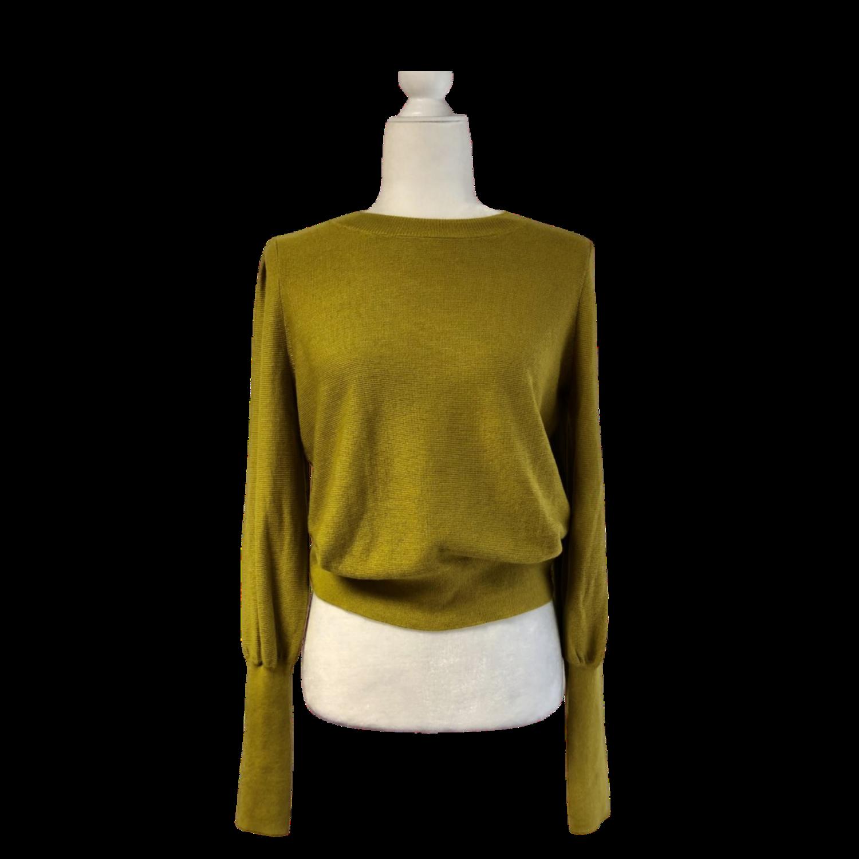 Joie Sweater New W/Tags Olive Green Women's Medium Very Soft Lightweight Sweater