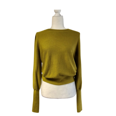 Joie Sweater New W/Tags Olive Green Women's Medium Very Soft Lightweight Sweater
