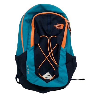 The North Face Jester Teal/Navy/Orange Flexvent Backpack