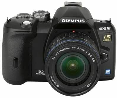 OLYMPUS Digital E510 Camera with Bag and Accessories
