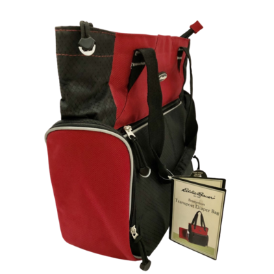 Eddie Bauer Bremerton Transport Diaper Bag Red/Black