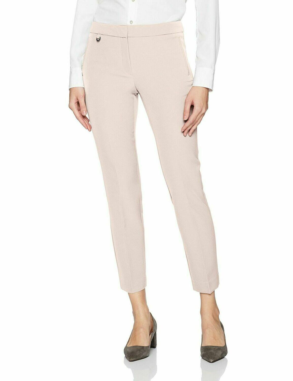 Adrianna Papell Women's Millennium Kate Fit Blush Pant #17PP77310 Women's 12
