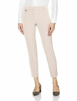 Adrianna Papell Women's Millennium Kate Fit Blush Pant #17PP77310 Women's 12