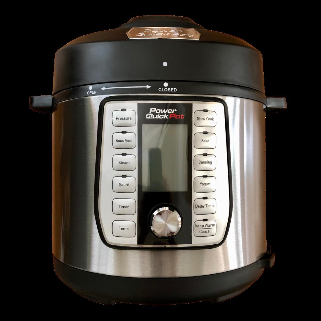 Power Quick Pot Deluxe 6 Qt/Steel 4-00557-06-02 As Seen On TV