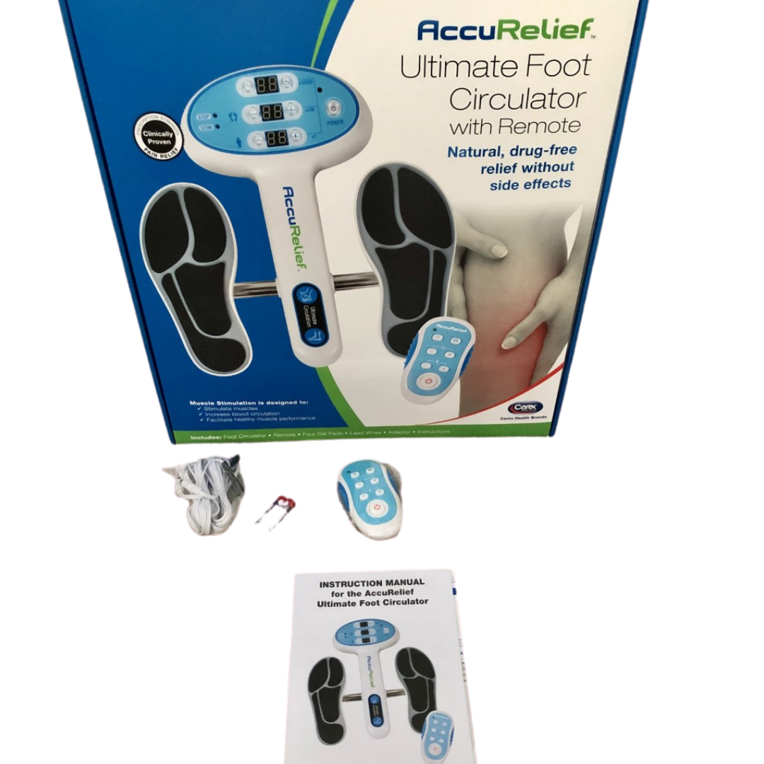 AccuRelief Ultimate Foot Circulator with Remote Carex #ACRL5500