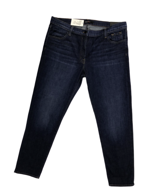 "Women's J Brand Jeans ""Johnny Mid-Rise Boyfit"" JB000905 Super Soft Dark Denim Women's 31"