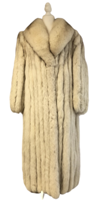 Saga Full Length Fur Coat Women's Medium