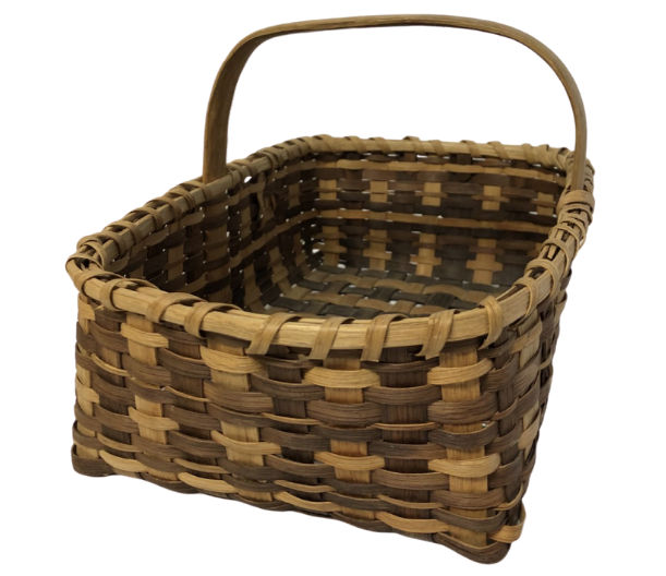 Vintage Cherokee White Oak Basket