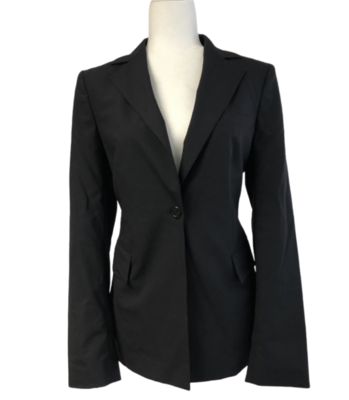 BOSS By Hugo Boss Black Blazer Women's 8