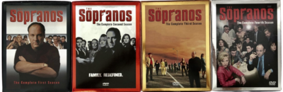 Sopranos Complete Seasons 1-4 DVD Boxed Sets