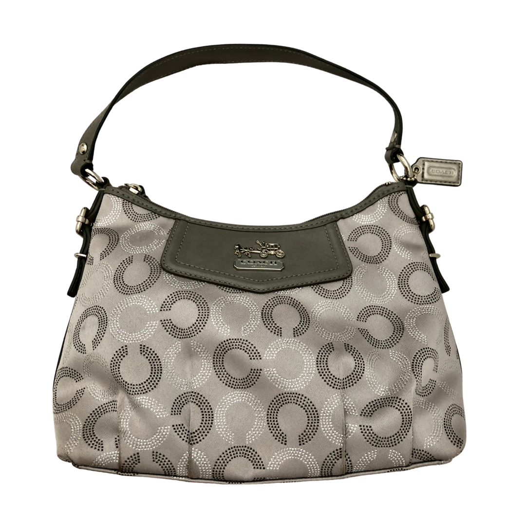COACH Silver Sophisticated Purse 44379